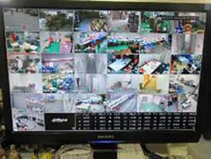 CCDカメラによる各現場管理